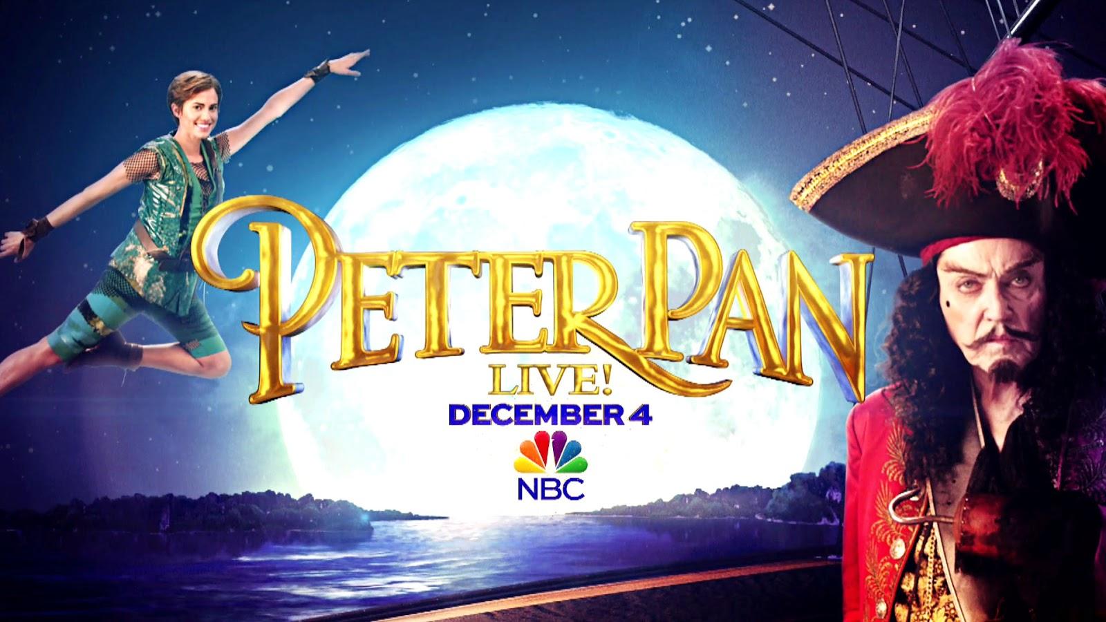 Peter Pan live ! poster