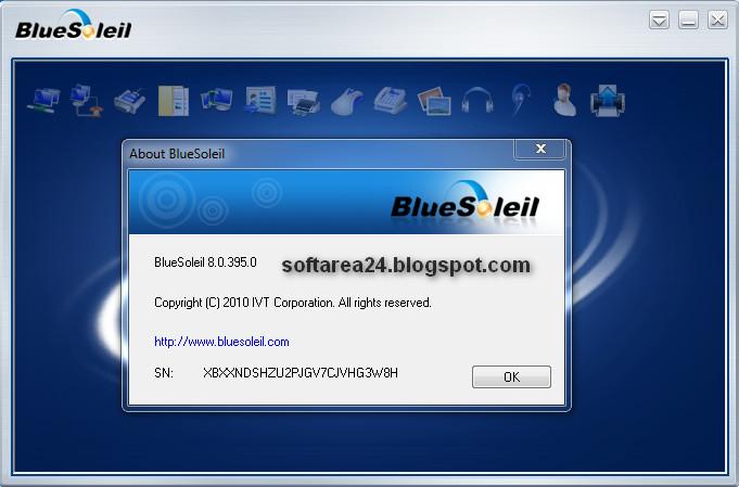 ��������� ��� Bluesoleil Space 10.0.417.0