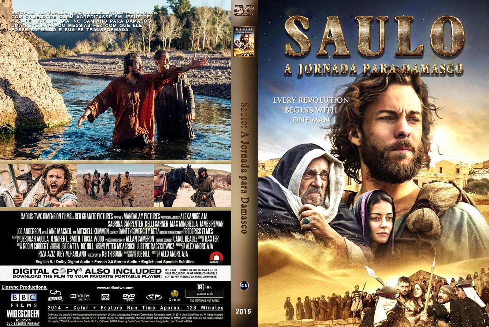 FILME ONLINE SAULO - UMA JORNADA PARA DAMASCO