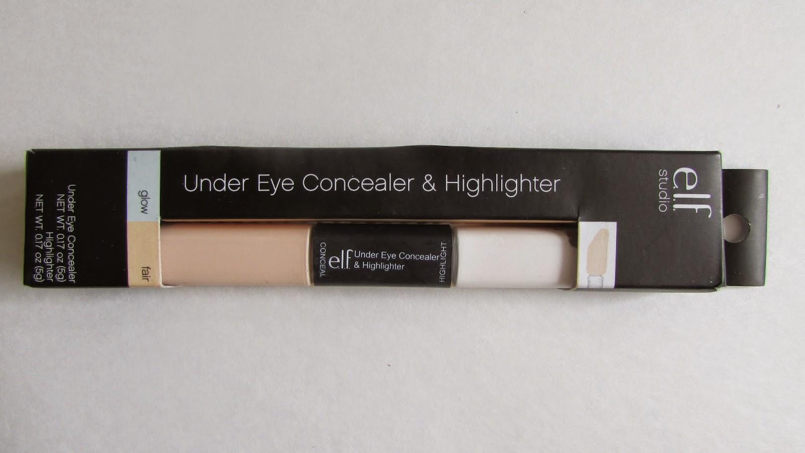 Miss Brunette Beauty: E.L.F. Under Eye Concealer & Highlighter ...