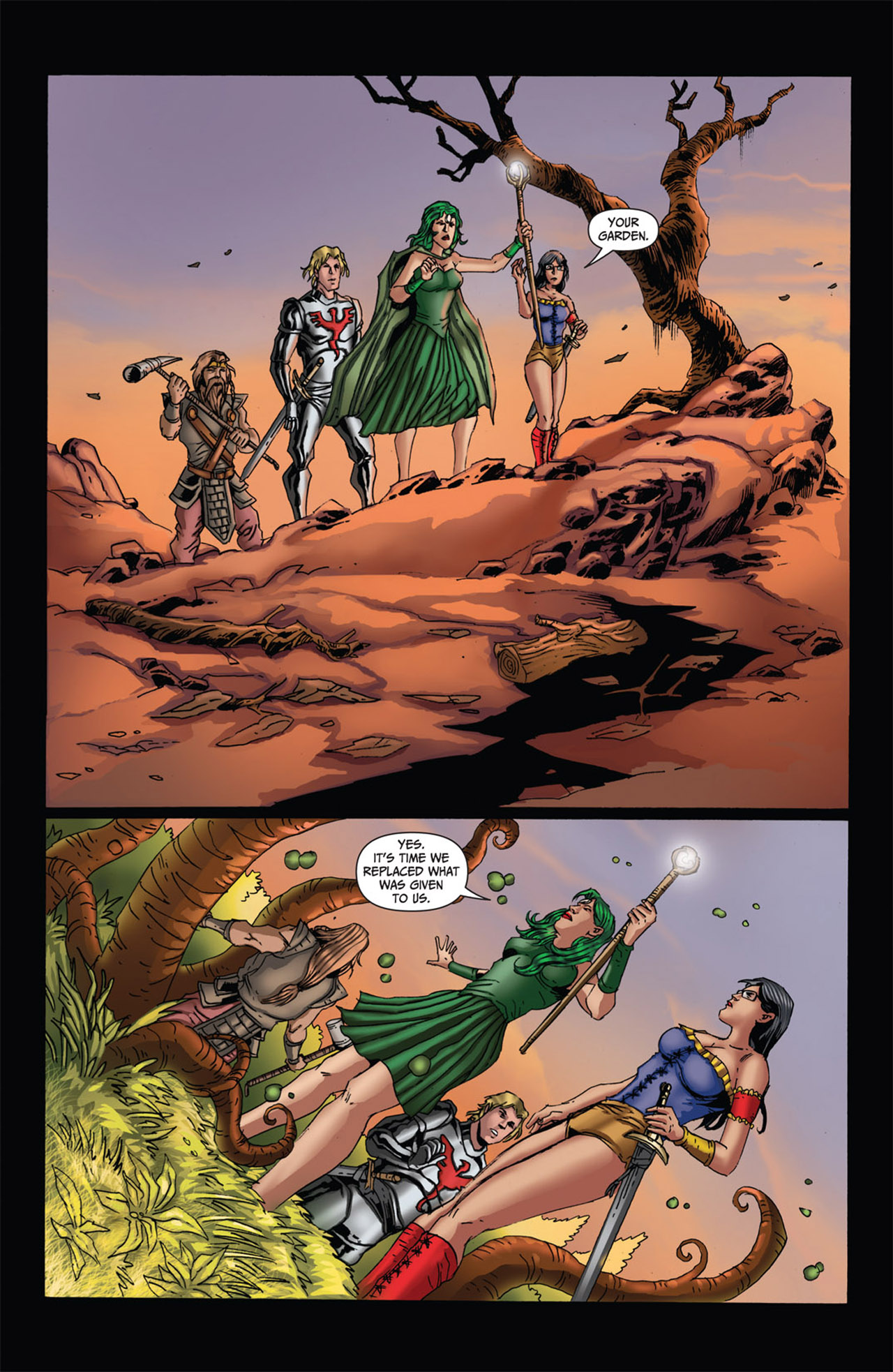 Grimm Fairy Tales (2005) Issue #62 #65 - English 12