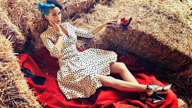 Katy Perry en la granja