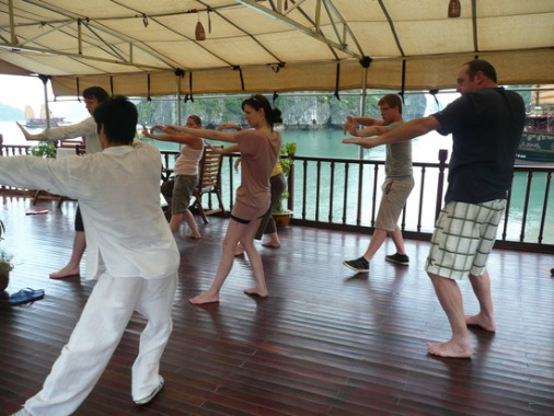 Tai Chi Exercise - Ginger Cruise