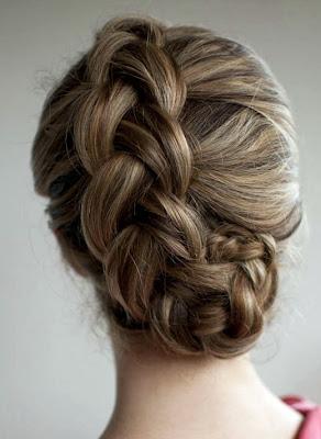 gaya rambut kepang belanda