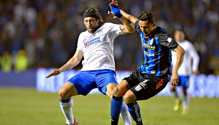 Queretaro vs Cruz Azul en vivo