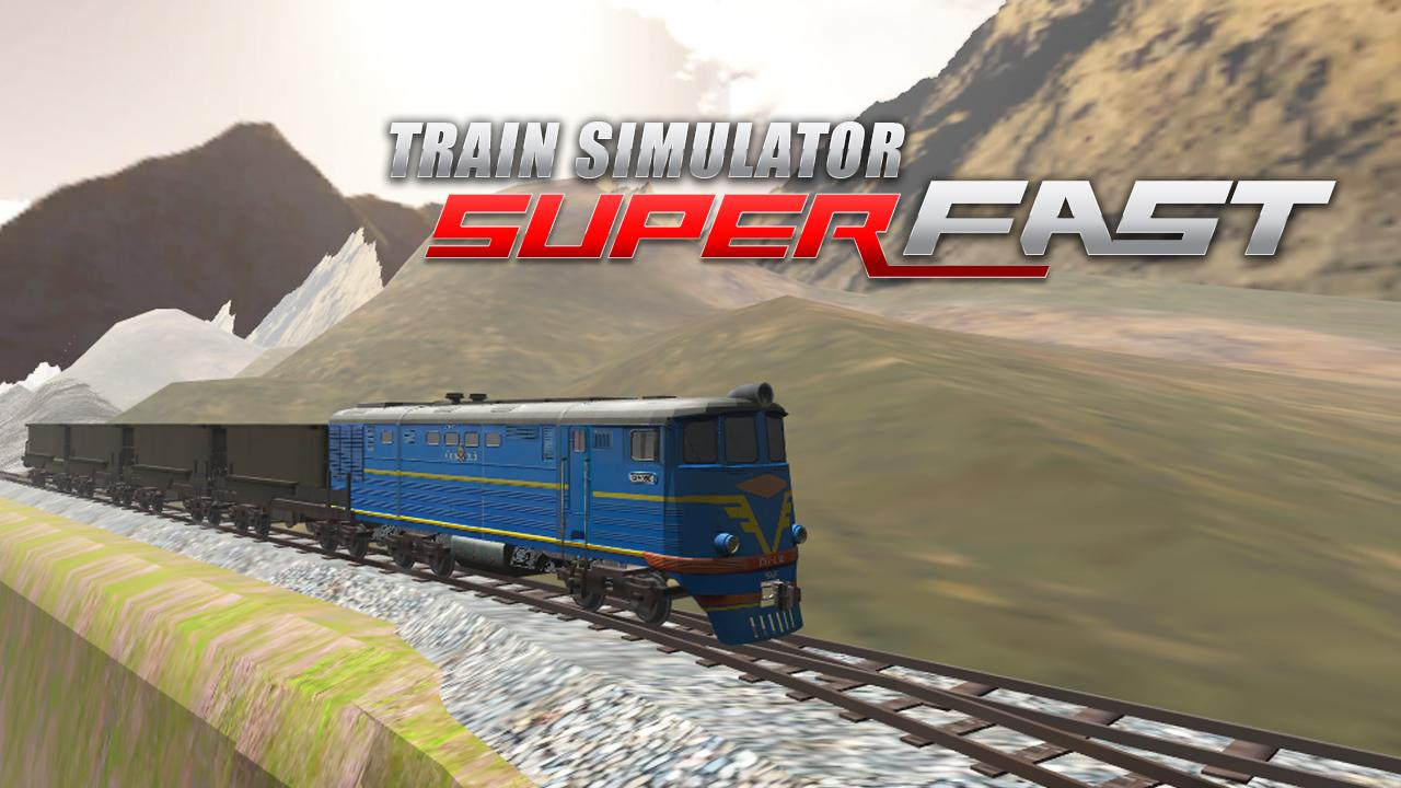 Train Simulator Super Fast Gameplay Android