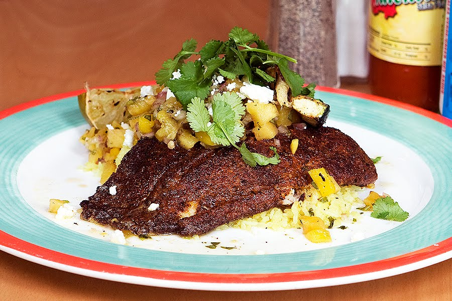 Be the benchmark lent promotion blackened fish for Blackened fish recipes