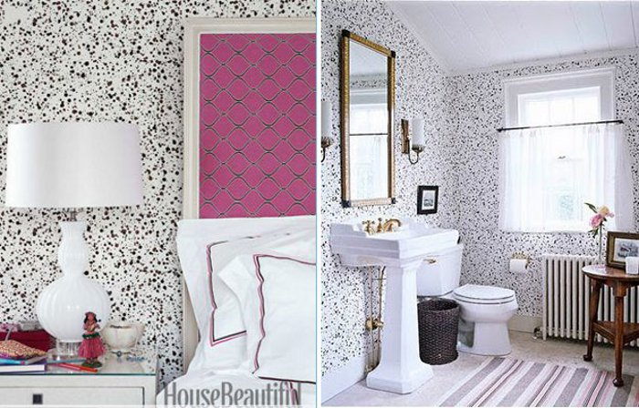 peonies brass wallpaper love spots splatters