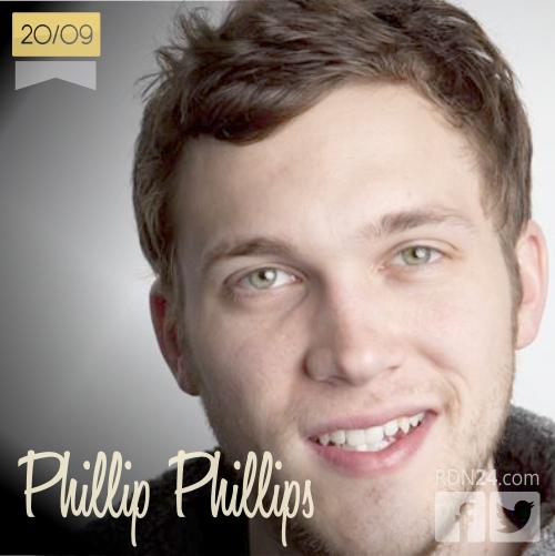 20 de septiembre   Phillip Phillips - @Phillips   Info + vídeos