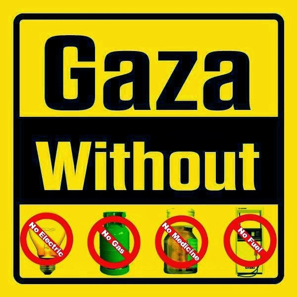 Gaza is in a deep CRISIS No Electricity, No fuel, No Gas, No Medicine, No clean Drinking water!!!