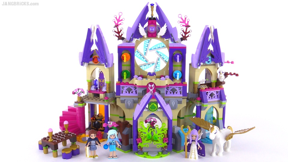 LEGO Elves Skyra's Mysterious Sky Castle build & review! set 41078