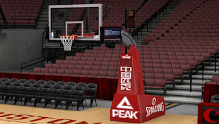 NBA 2K13 Houston Rockets Court Backboard Patch