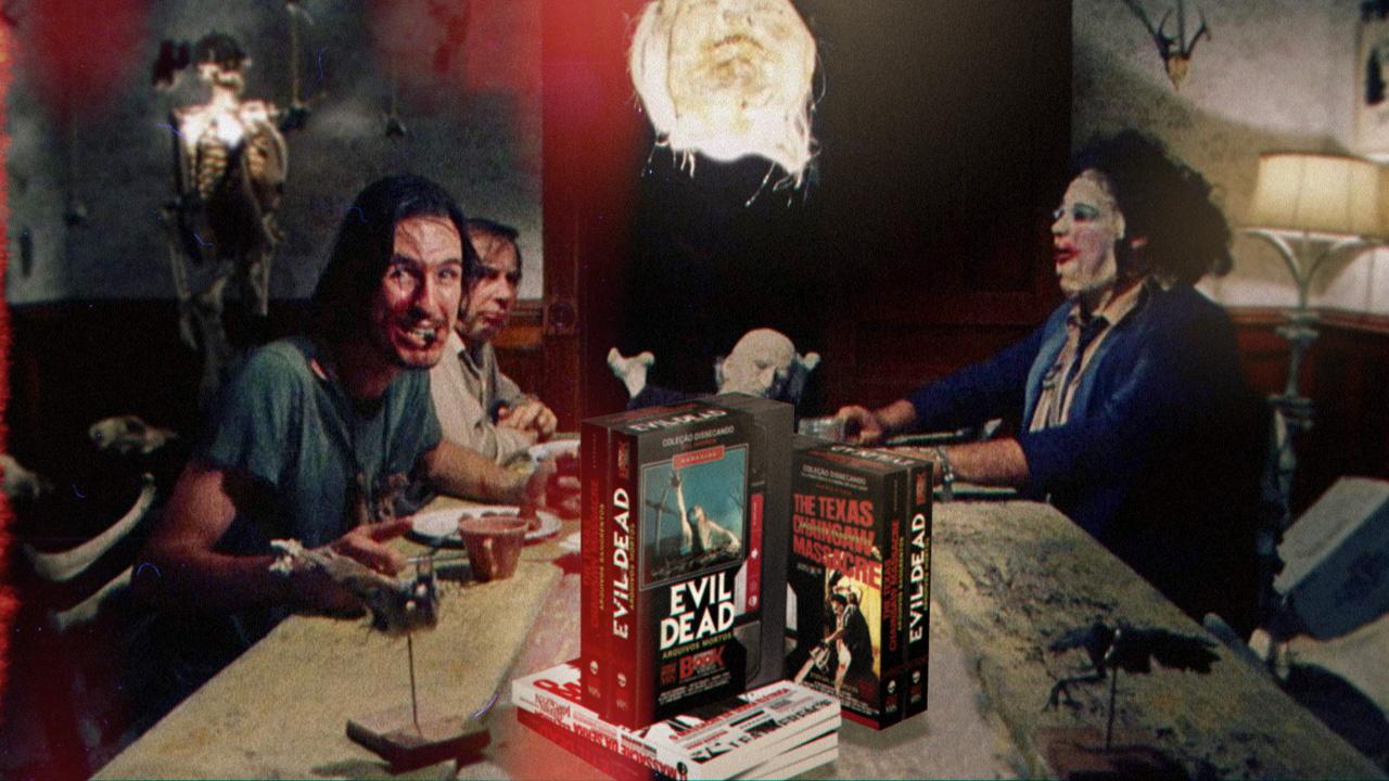 Confira os detalhes da coleção TERROR VHS Dissecando classicos, lindona que a DarkSide lançou no fim do ano passado, mais especificamente em novembro de 2014, em mais um vídeo de livros