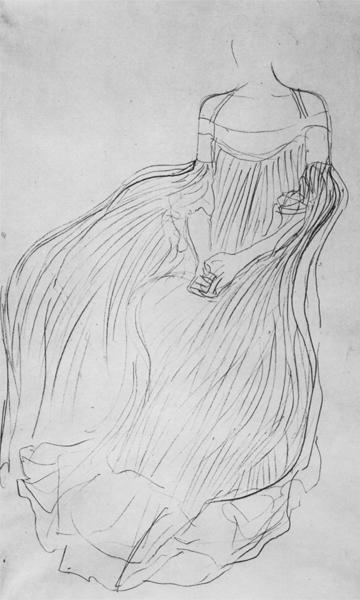 Klimt: Adele Bloch-Bauer'in Portresi I ve II Eskizleri