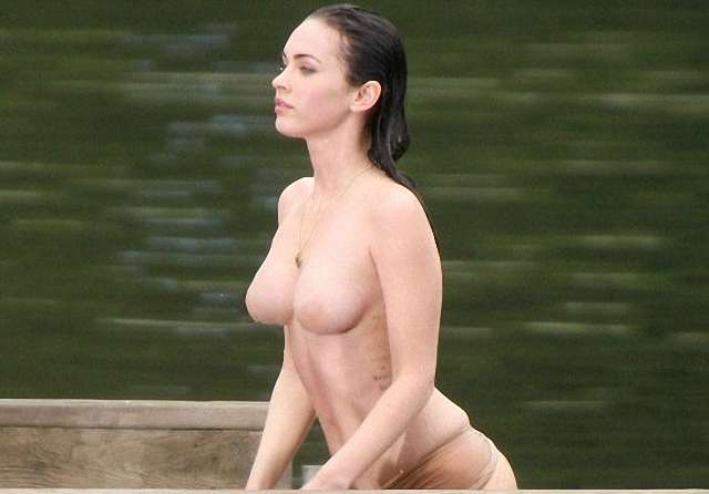 Megan Fox en topless
