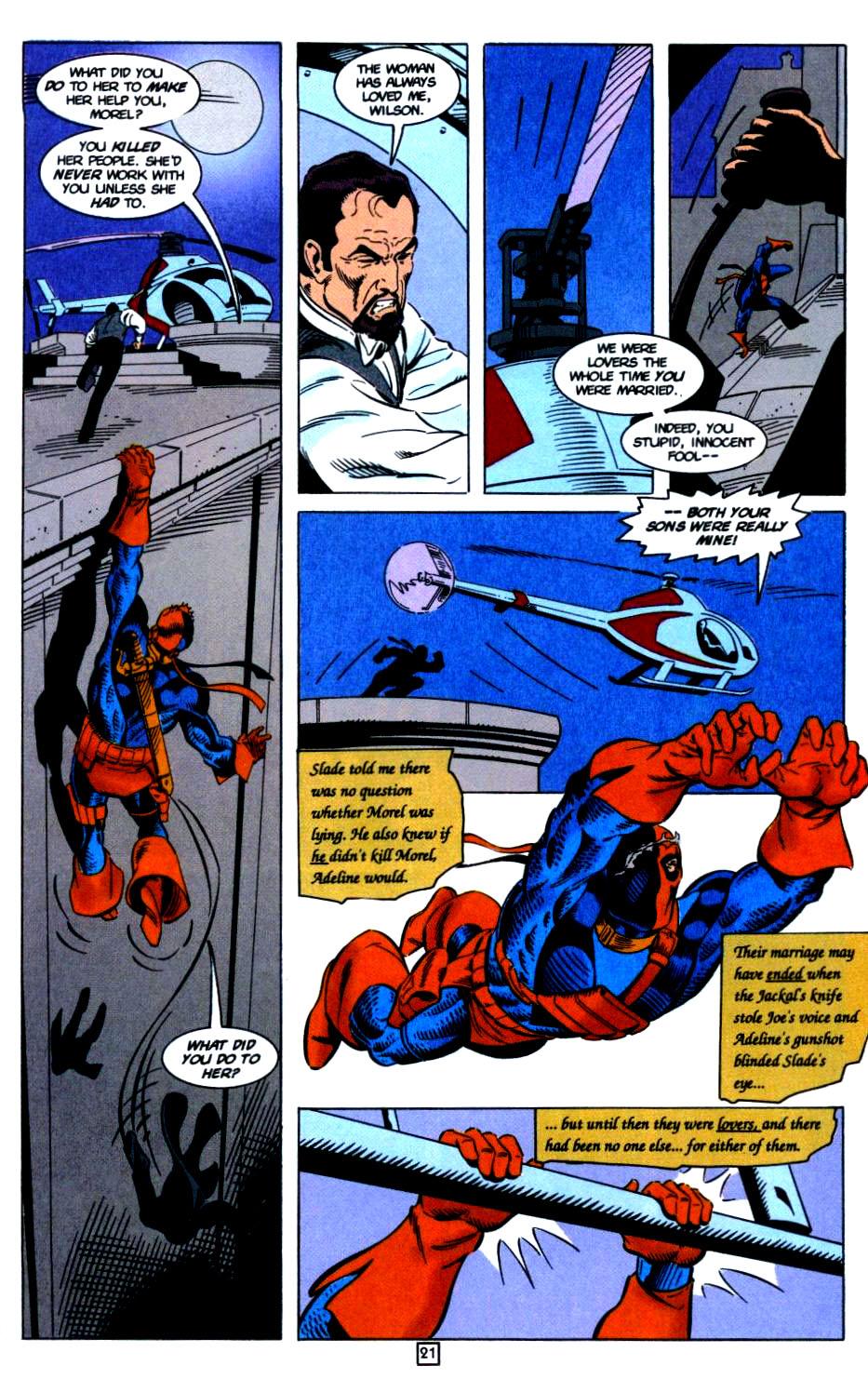 Deathstroke (1991) Issue #32 #37 - English 22