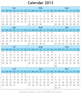 Calendar 2013 - 4