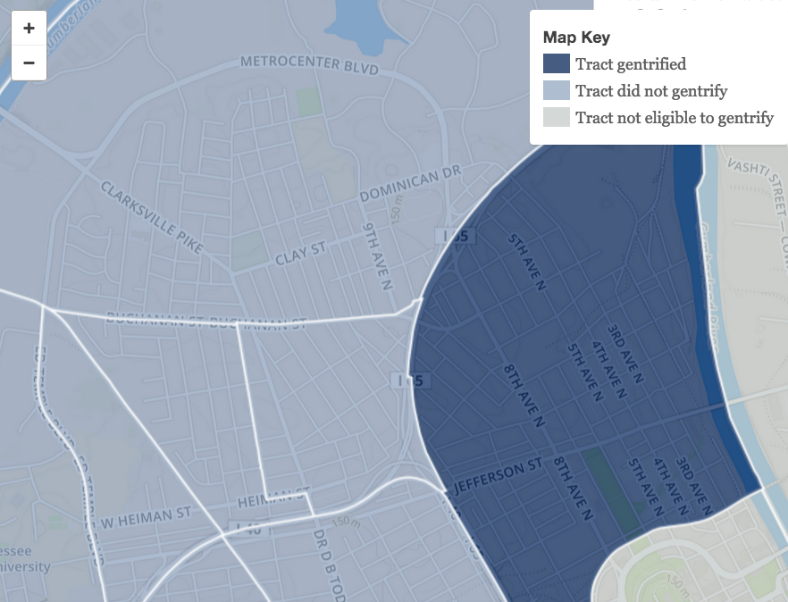 poverty and gentrification In denver's east colfax neighborhood, where the poverty rate is 39 percent,   and the closer to denver, the greater the degree of gentrification.