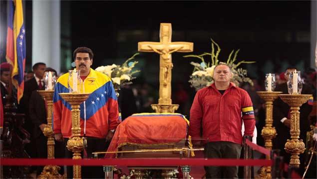 Jesús, Chavez, Maduro y Cabello