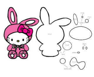 Bunny Hello Kitty Extended Template B4Astudios