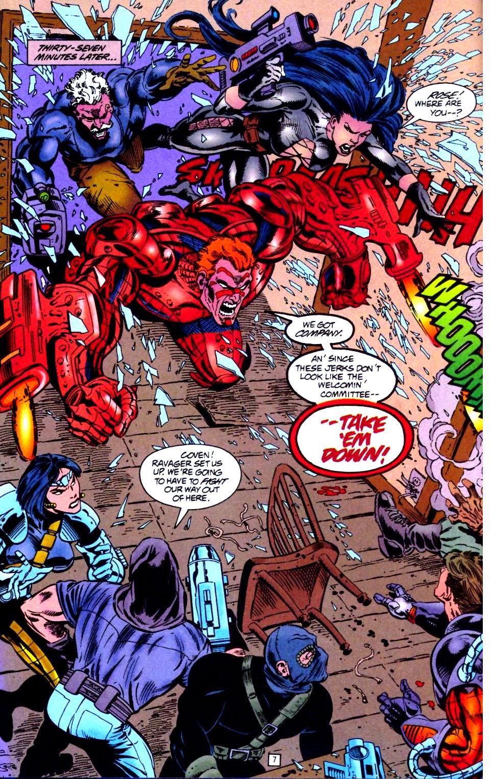 Deathstroke (1991) Issue #44 #49 - English 8