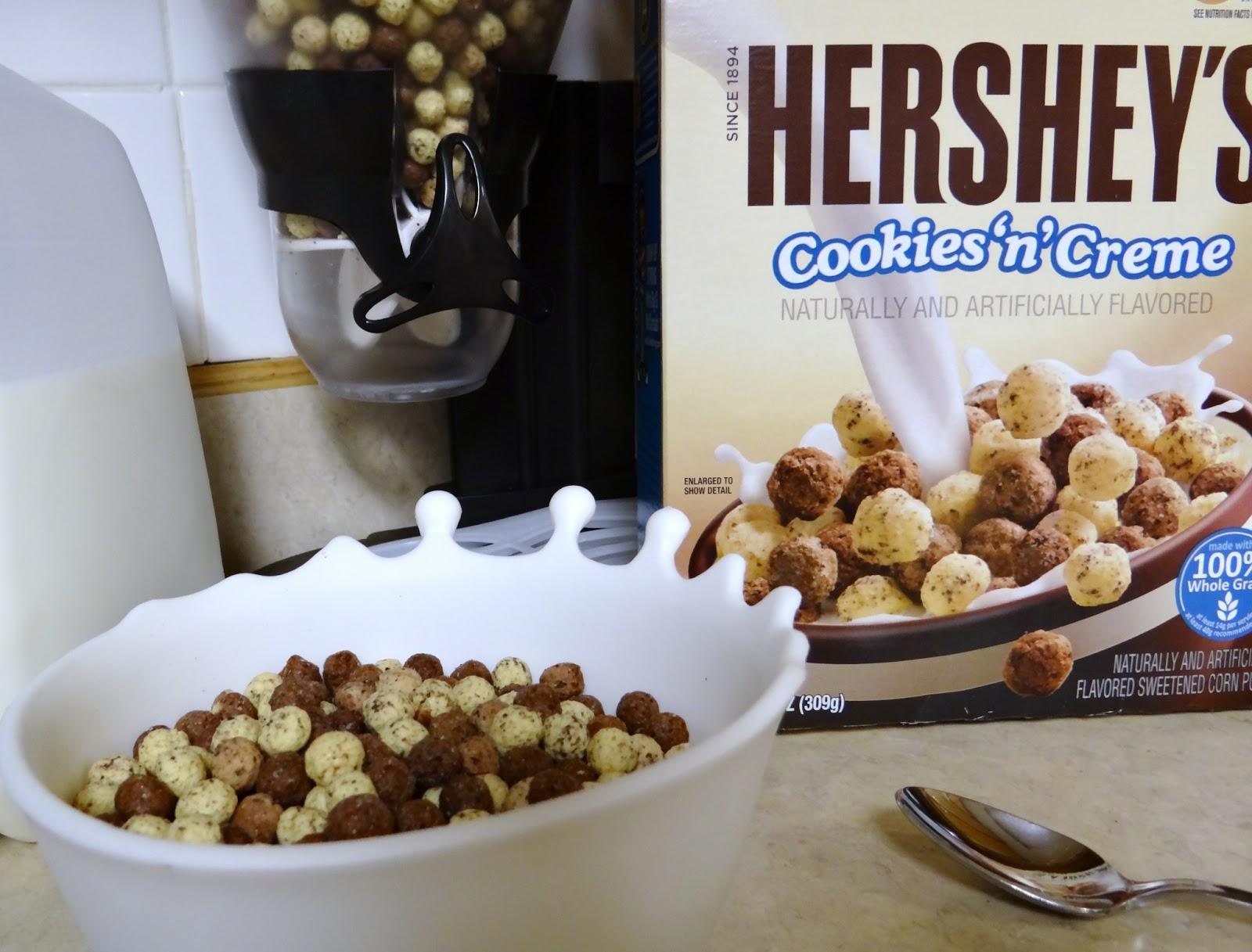 Hershey's Cookies n Creme Cereal - Rural Mom Hershey Cookies And Cream Cereal