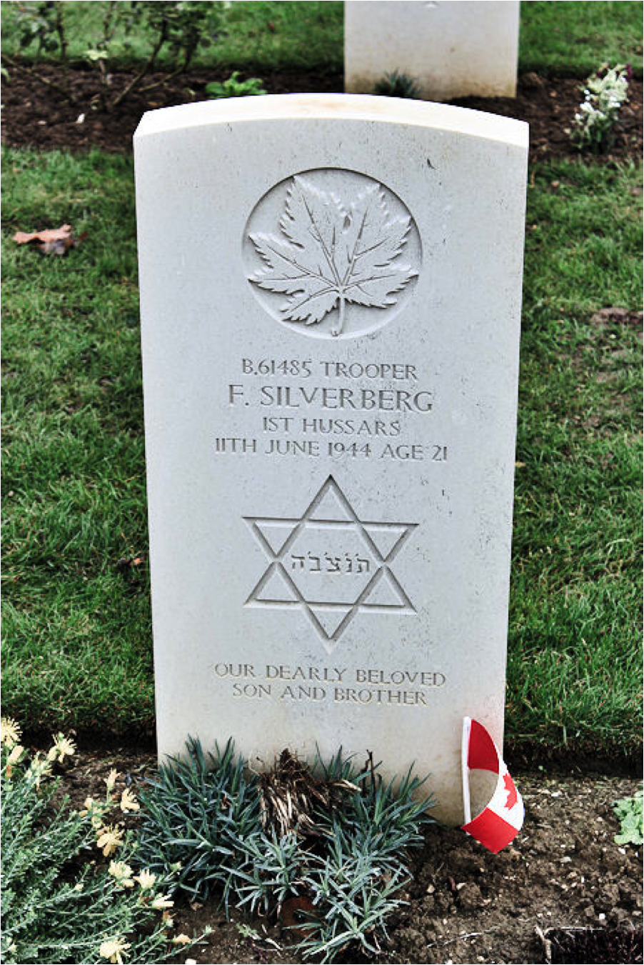 Biographies by Cemetery of Canadian Jewish casualties in northern ...