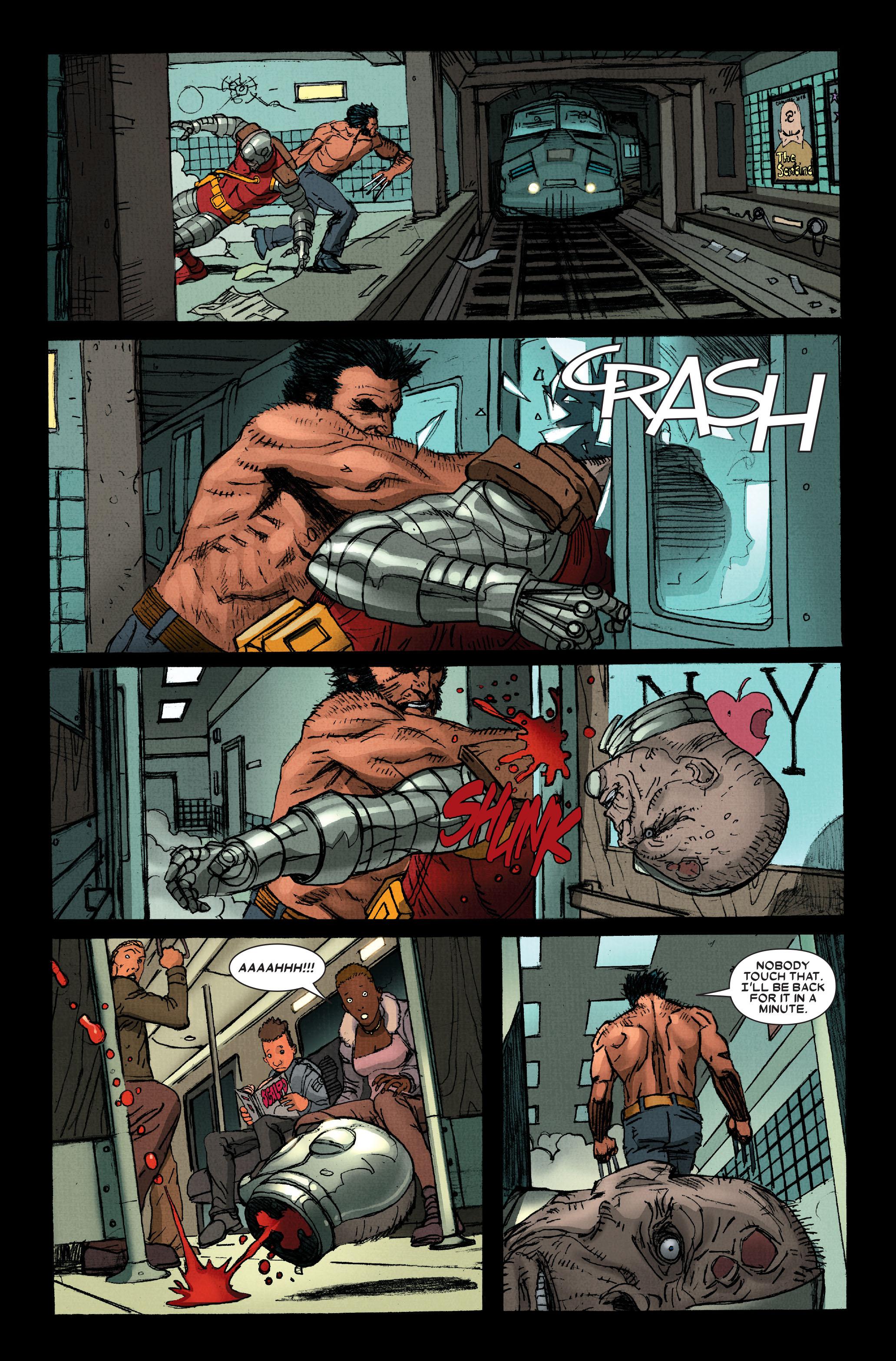 Wolverine: Weapon X #13 #4 - English 11