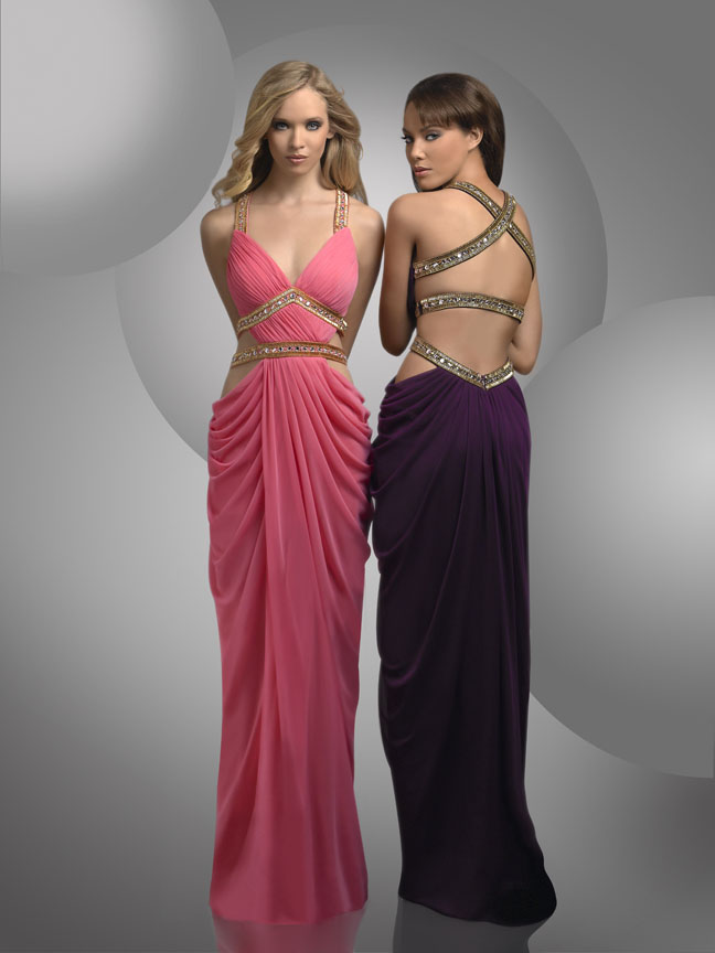 Grecian Style Prom Dresses 2012