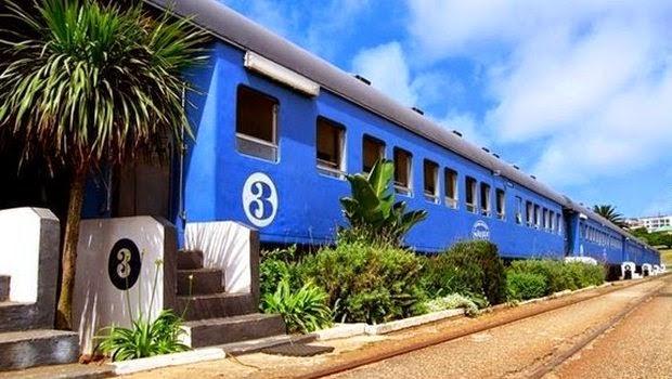 Keren, Kereta Api Bekas Dijadikan Hotel Mewah