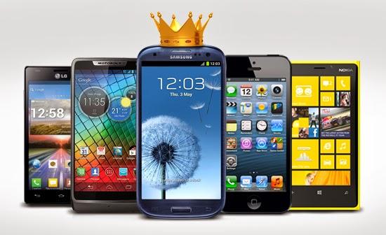 comparação de smartphones