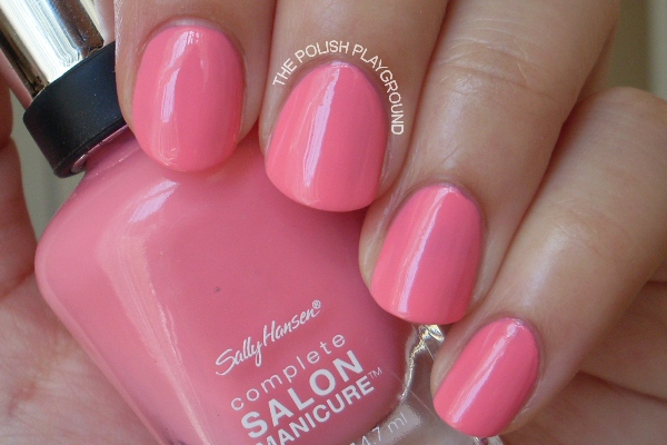 Sally Hansen Complete Salon Manicure I Pink I Can