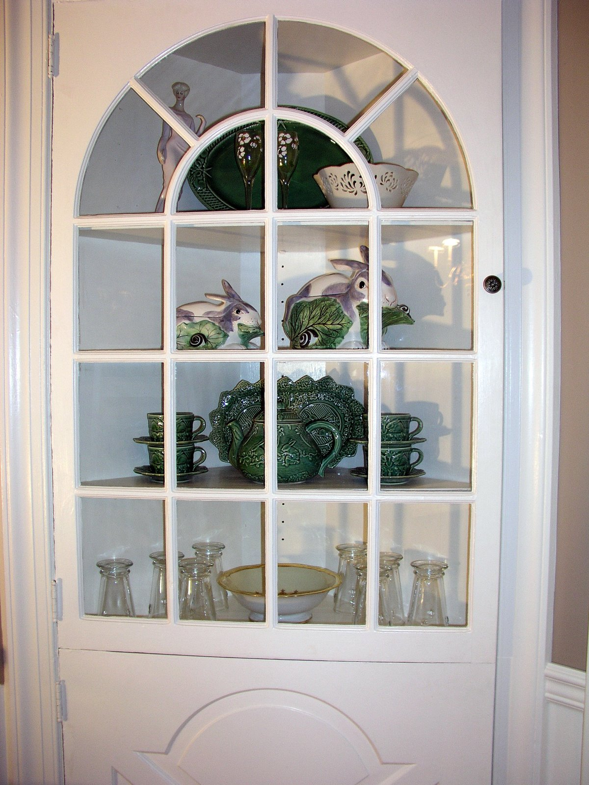 Dining Room Corner China Cabinet