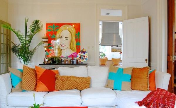 berbagai dekorasi dan asesoris rumah warna warni model