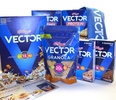 Vector Granola Honey Almond Flavour