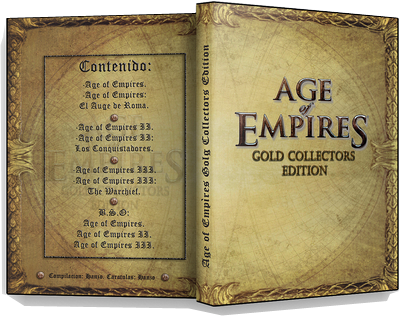 Age of Empires Gold Edicion[[1,2 Y 3]] [2012][PC][Espanol][Accion][Multihost]