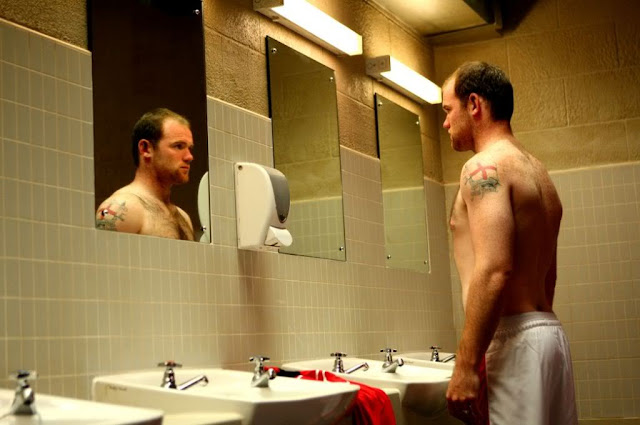 Tattoo soccer Wayne Rooney