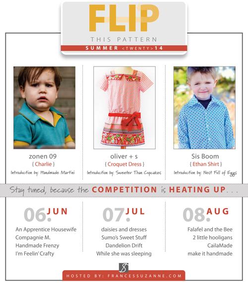 Flip This Pattern Summer 2014