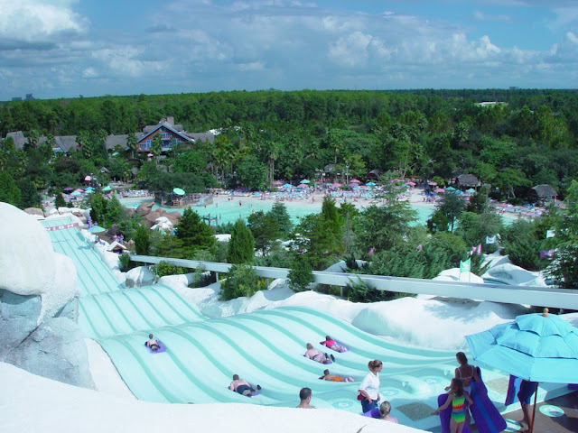 Blizzard Beach Disney Toboggan Water