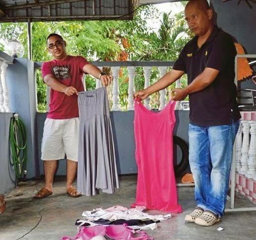 Misteri Coli Dan Pakaian Dalam Wanita Di Depan Rumah