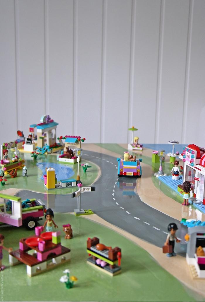 Svenngården: tips til barnerom: nytt legobord
