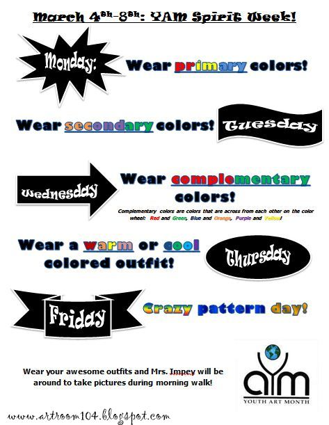 school spirit week flyer template anta expocoaching co