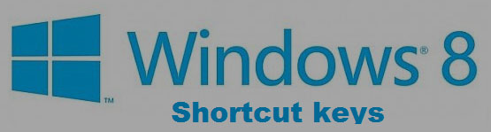 windows 8 shortcut keys