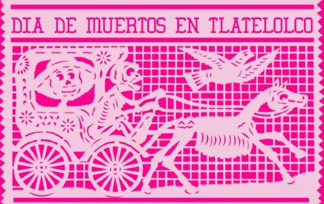 Asiste a la celebración de Día de Muertos en Tlatelolco