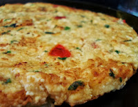 Fritada de Batata com Tofu (vegana)