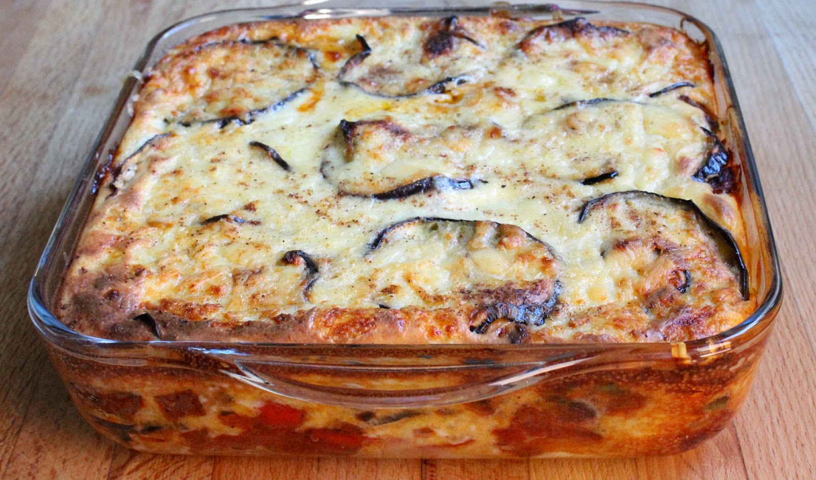 Mediterranean Vegetable Moussaka - National Vegetarian Week