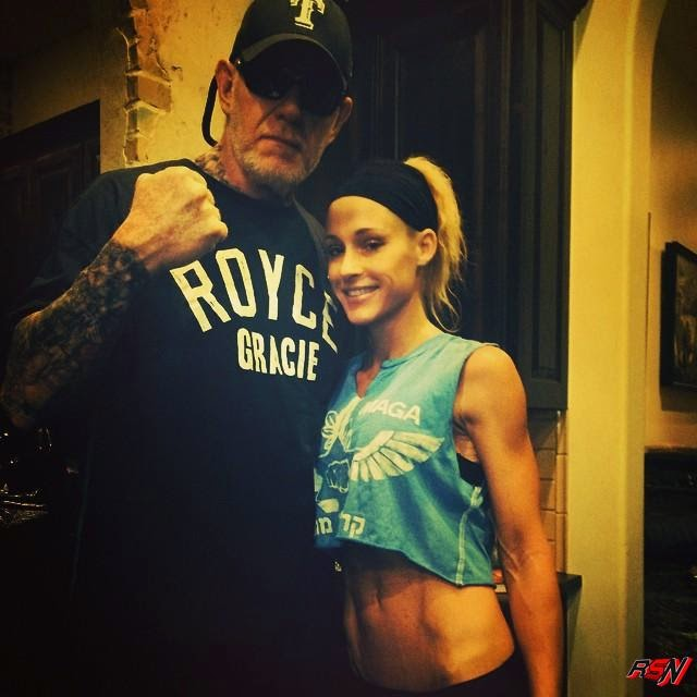 Recent Picture Of Taker And McCool.
