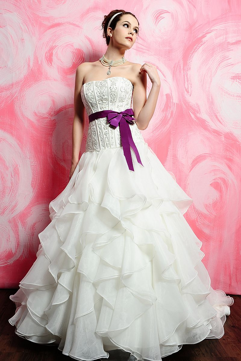 Cheap Wedding Dresses With Color