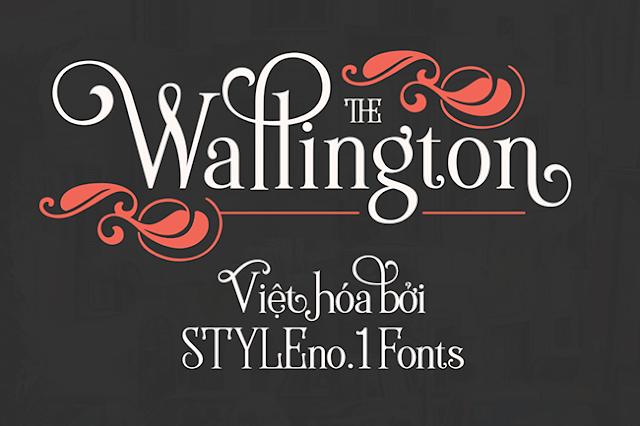 [Vintage Serif] Wallington Việt hóa