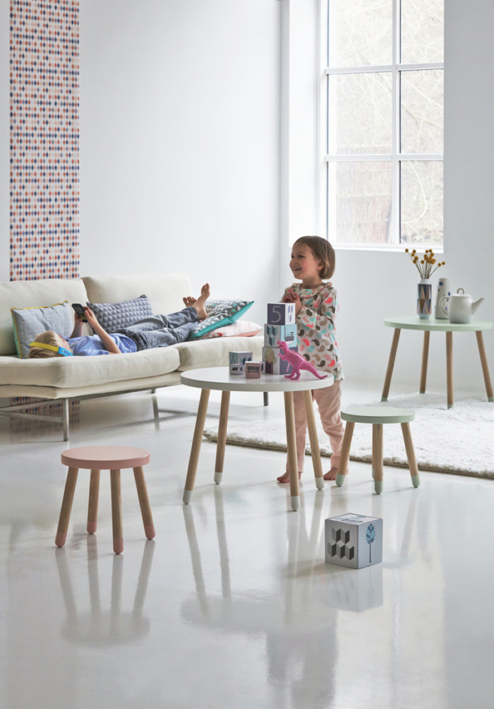 play table for kids from flexa denmark